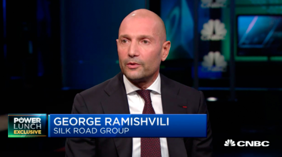 George Ramishvili Announces Batumi Silk Tower Project on CNBC Live